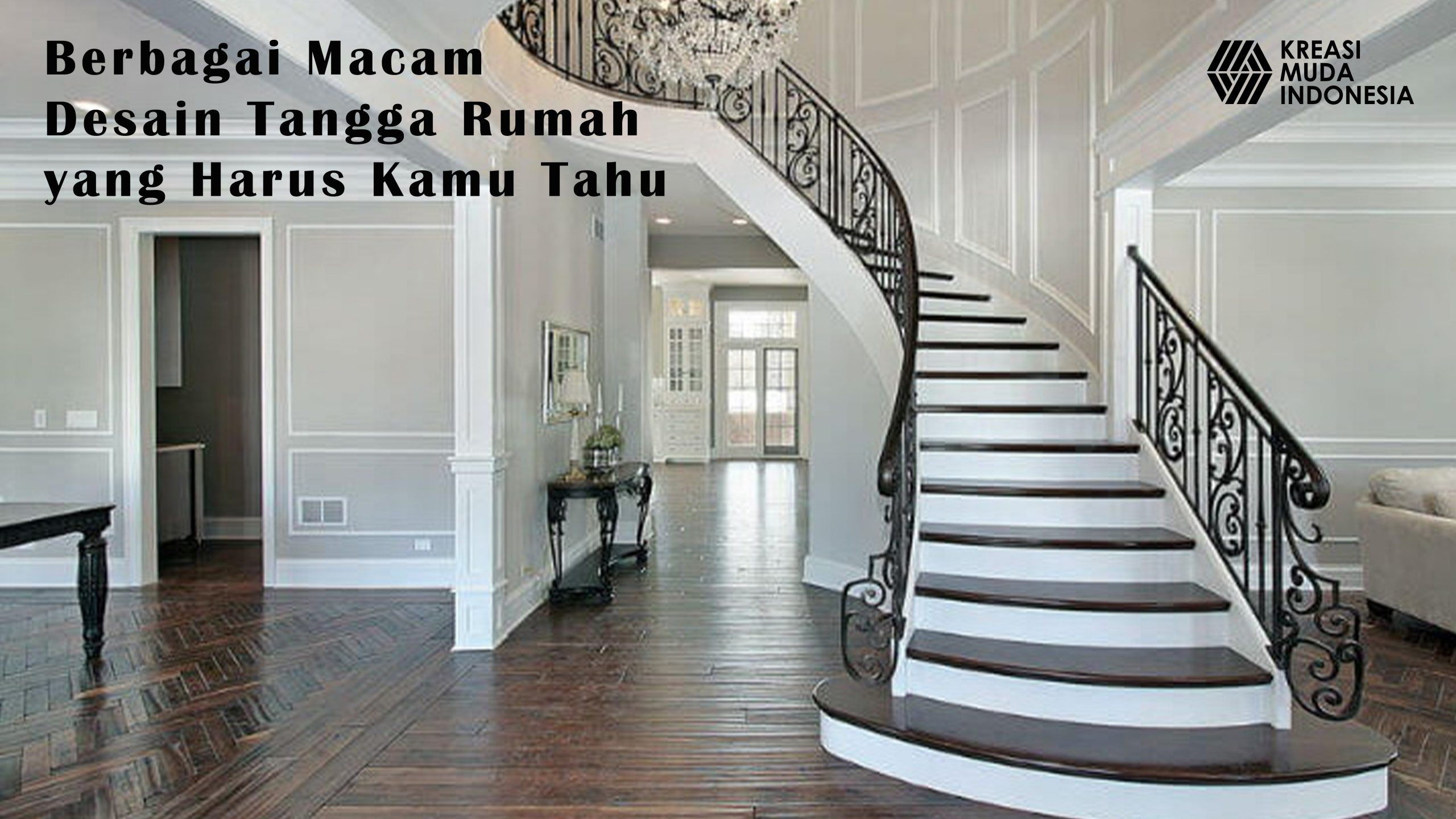 Berbagai Macam Desain Tangga Rumah yang Harus Kamu Tahu ...